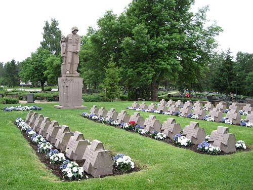 Finse Oorlogsgraven Nousiainen