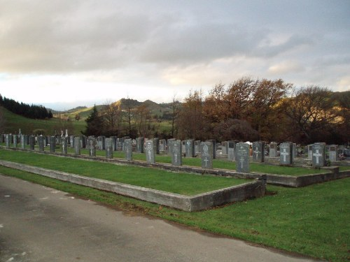 Commonwealth War Graves Taihape Cemetery