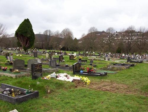 Oorlogsgraven van het Gemenebest Cefn-y-Parc Cemetery