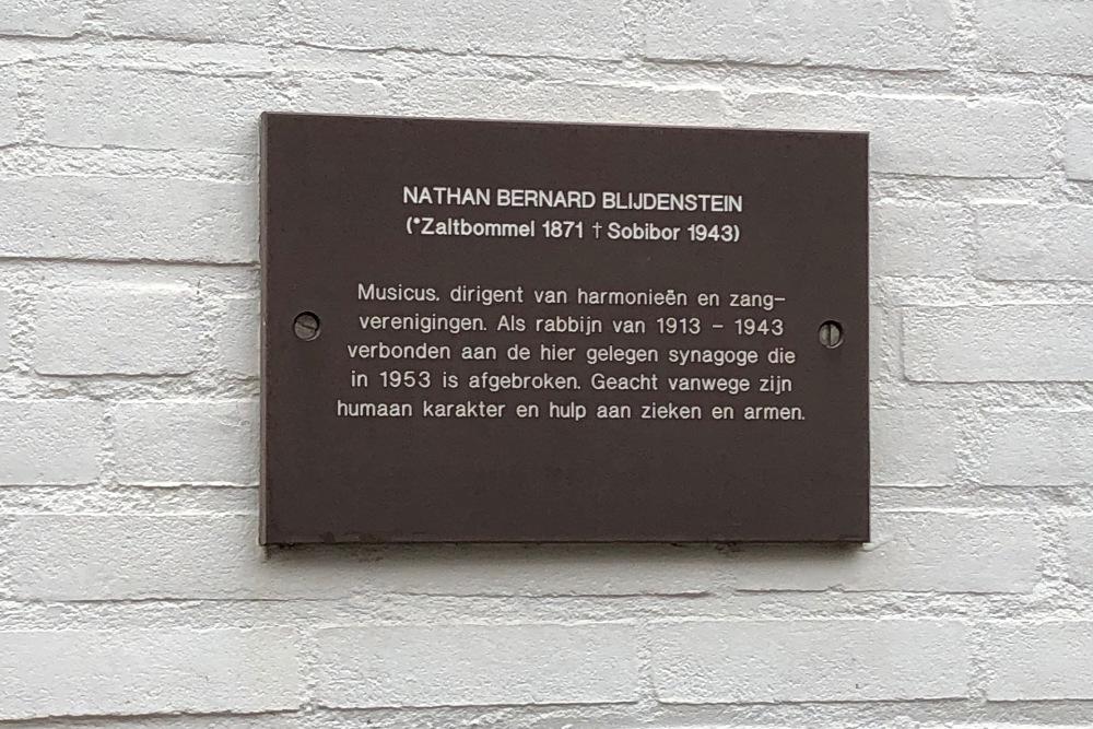 Plaque Nathan Bernard Blijdestein Sittard
