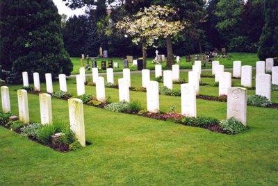 Oorlogsgraven van het Gemenebest Ripon Cemetery