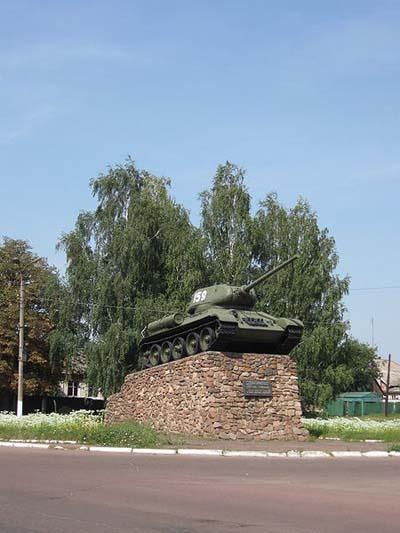 Bevrijdingsmonument (T-34/85 Tank) Nizhyn