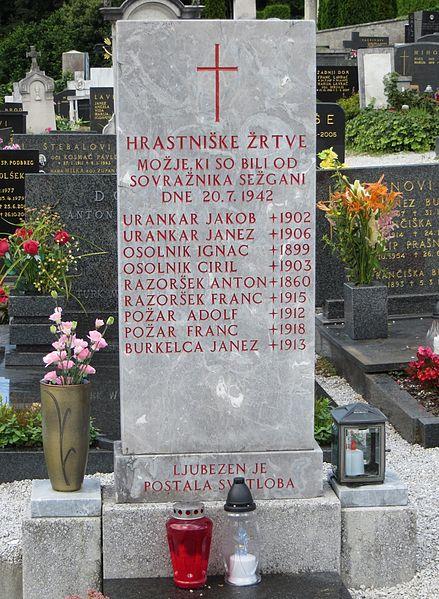 Mass Grave Moravče Massacre
