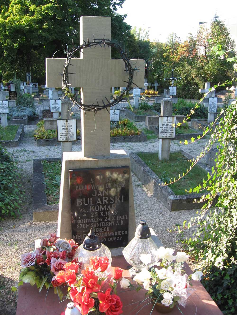 Partisan Cemetery Kielce