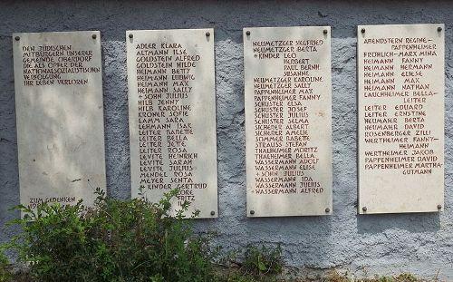 Holocaust Memorial Jewish Cemetery Oberdorf am Ipf