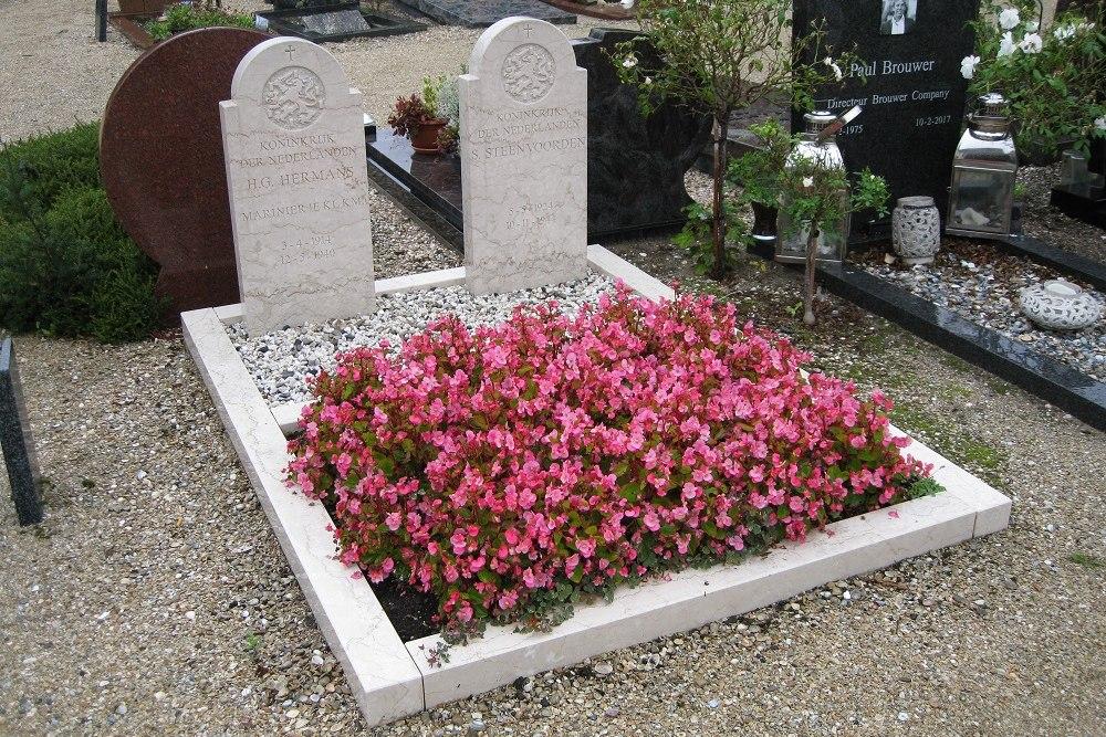 Nederlandse Oorlogsgraven Rooms Katholieke Begraafplaats Sint Jeroen Noordwijk