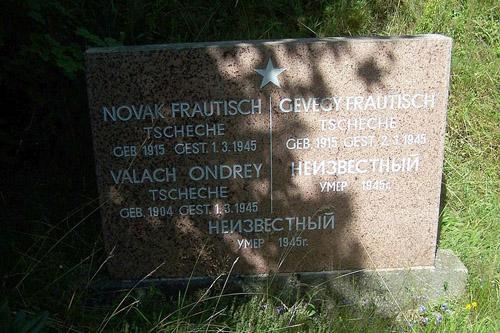 Gemeenschappelijk Graf Tsjechische Slachtoffers