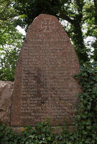 War Memorial Westenbrügge