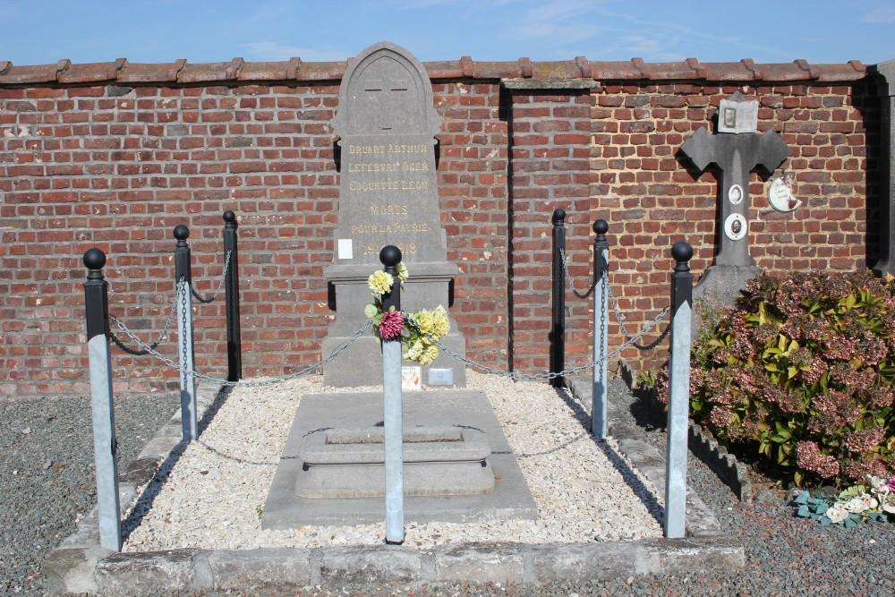 Belgian War Graves Attre