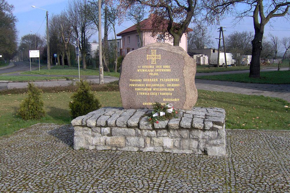Plt. Gerhard Pajakowski Memorial