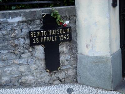 Lokatie Executie Benito Mussolini
