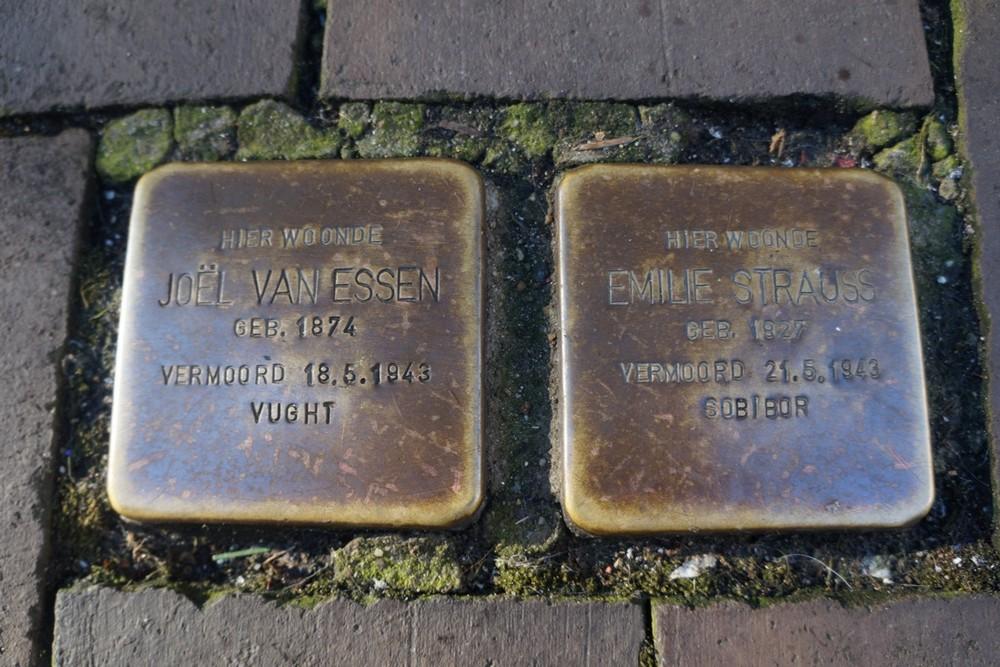Stumbling Stones Sassenstraat 26