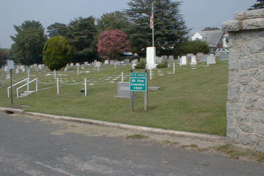 Amerikaans Oorlogsgraven Mountain View Cemetery