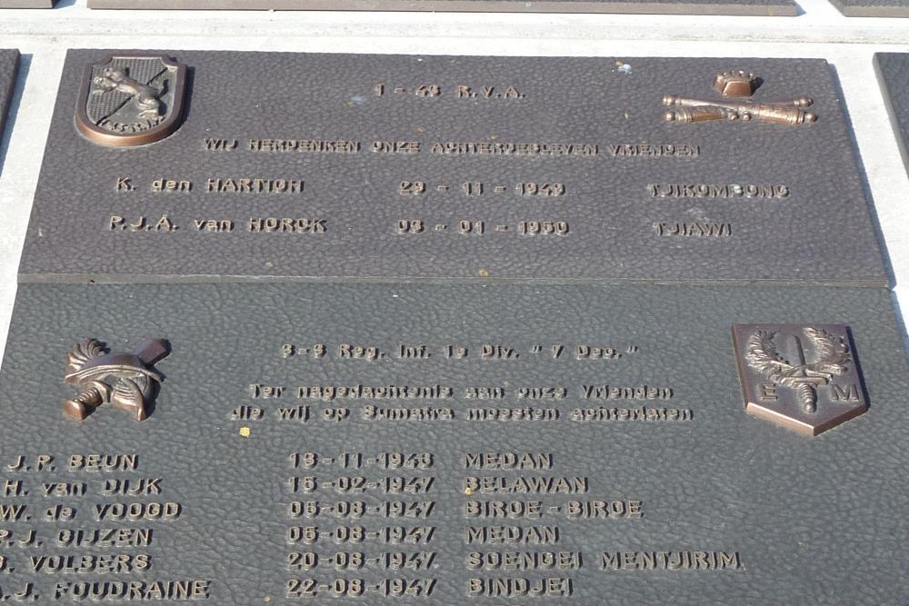Plaquette 1-43 Regiment Veld Artillerie