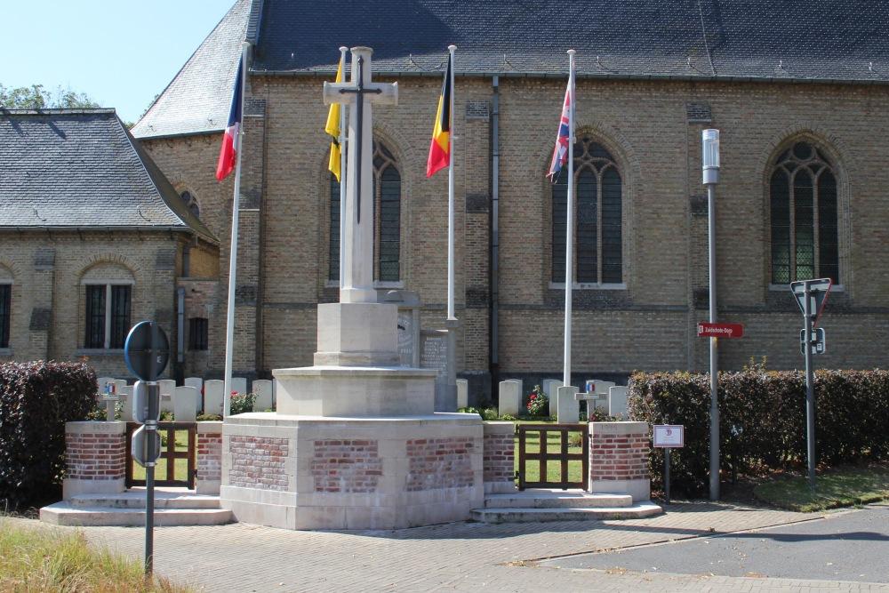 Oorlogsgraven van het Gemenebest Zuidschote Churchyard