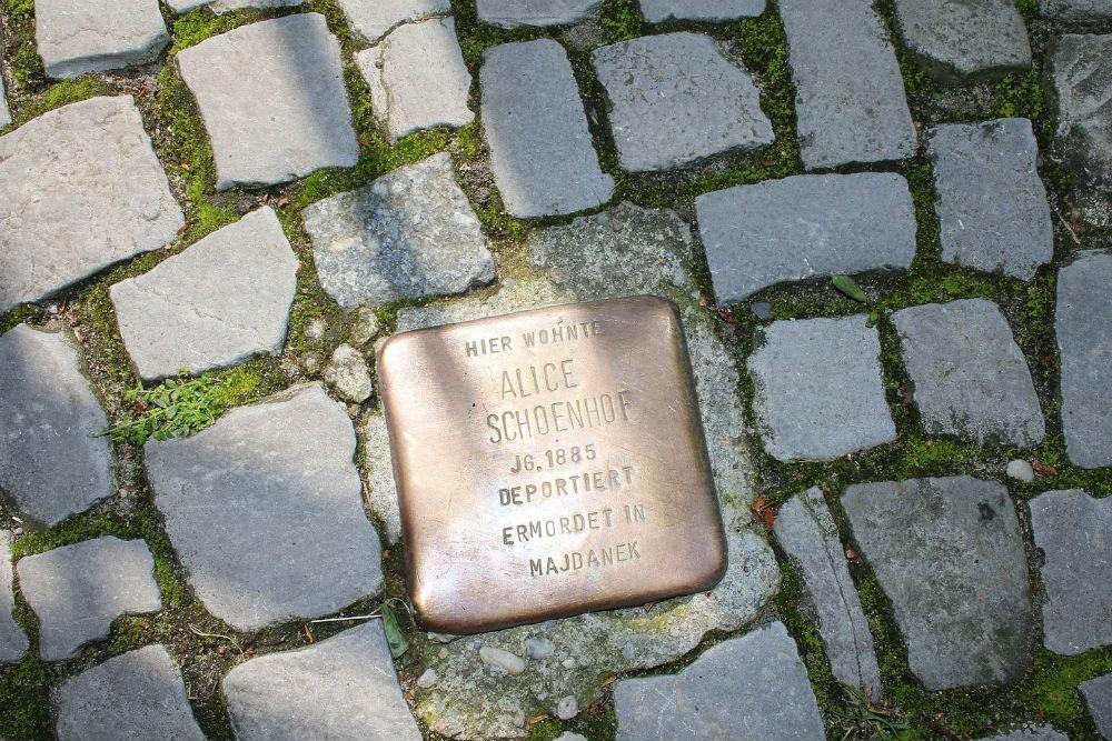 Stumbling Stone Drakestraße 58