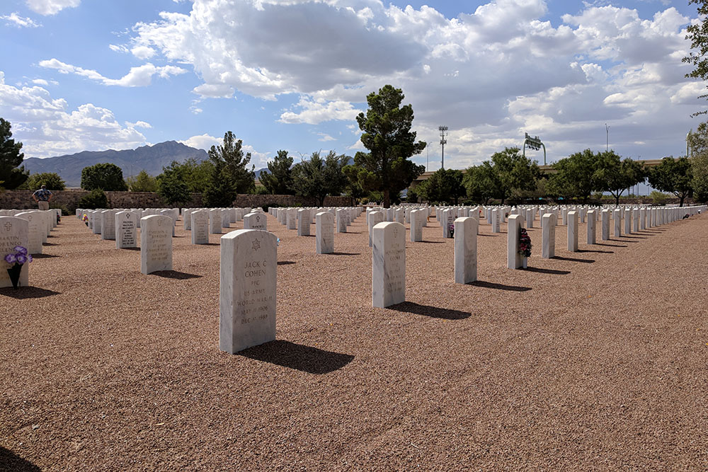 Amerikaanse Oorlogsgraven Fort Bliss National Cemetery