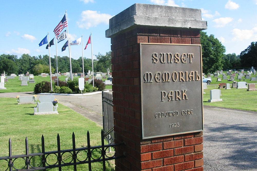 Amerikaans Oorlogsgraf Sunset Memorial Park