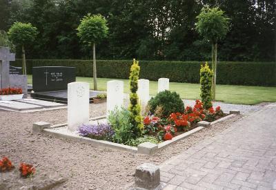 Oorlogsgraven van het Gemenebest Tungelroy