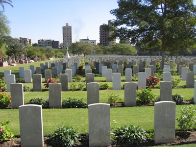 Commonwealth War Cemetery Cairo