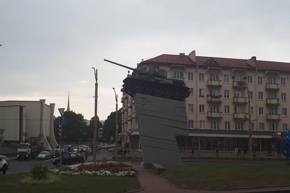 Bevrijdingsmonument (T-34/85 Tank) Grodno