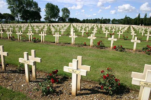 Franse Oorlogsbegraafplaats Notre Dame de Lorette