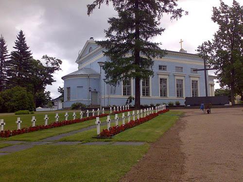 Finse Oorlogsgraven Hamina