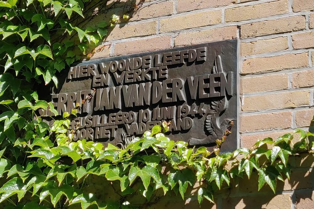 Monument Voormalig Woonhuis Gerrit van der Veen Zomerdijkstraat