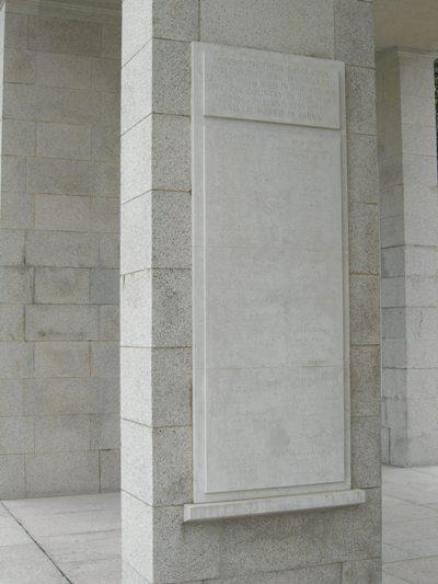 Monument van het Gemenebest voor Graven in China