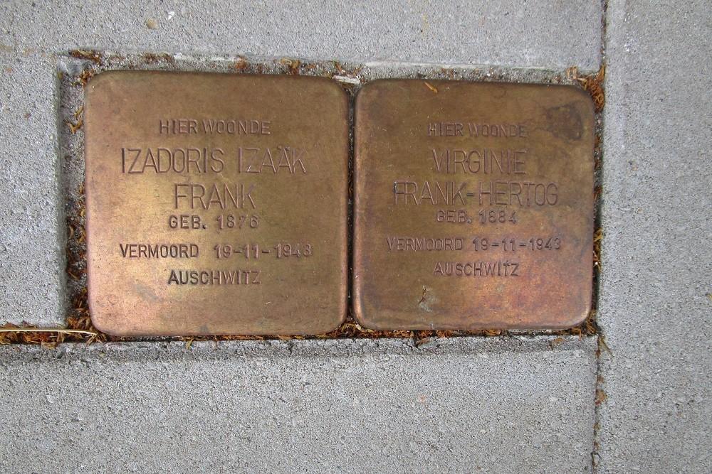 Remembrance Stones Waalstraat 45
