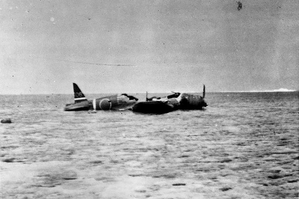 Crashlocatie Nakajima B5N