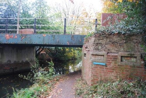 Bridge Pillbox Ash Vale