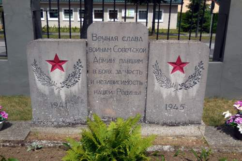 Soviet War Cemetery Löcknitz