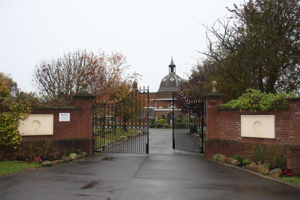 Monument Northampton and Counties Crematorium