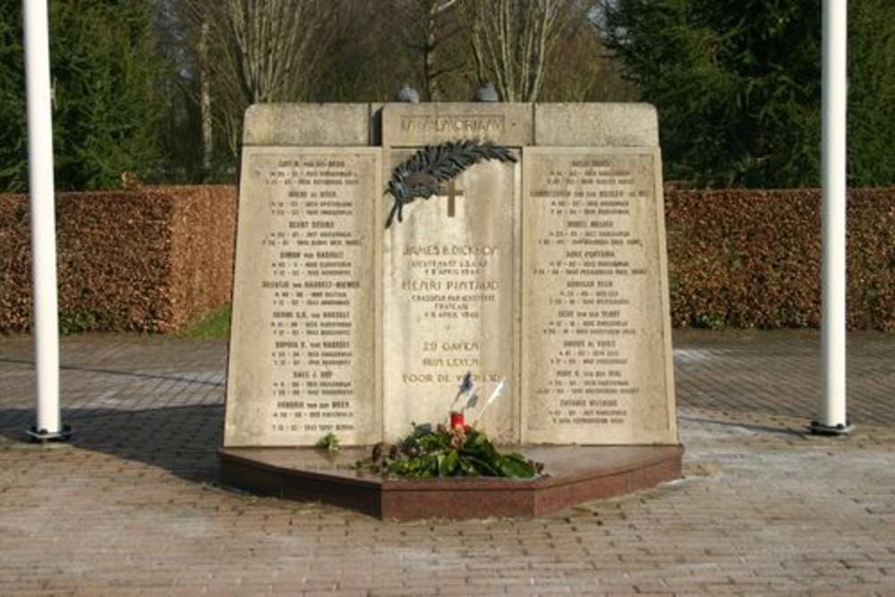 Monument Begraafplaats Eikenhof