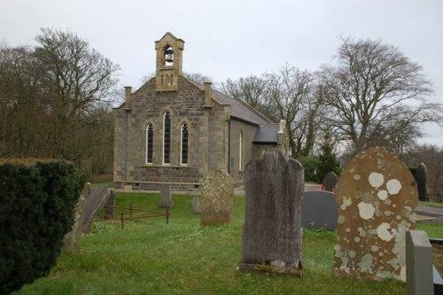 Oorlogsgraf van het Gemenebest Raloo Church of Ireland Churchyard