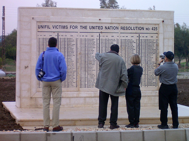 UNIFIL-monument Tyre