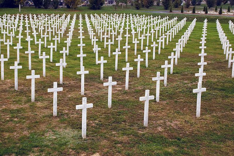 Voormalig Massagraf Begraafplaats Vukovar