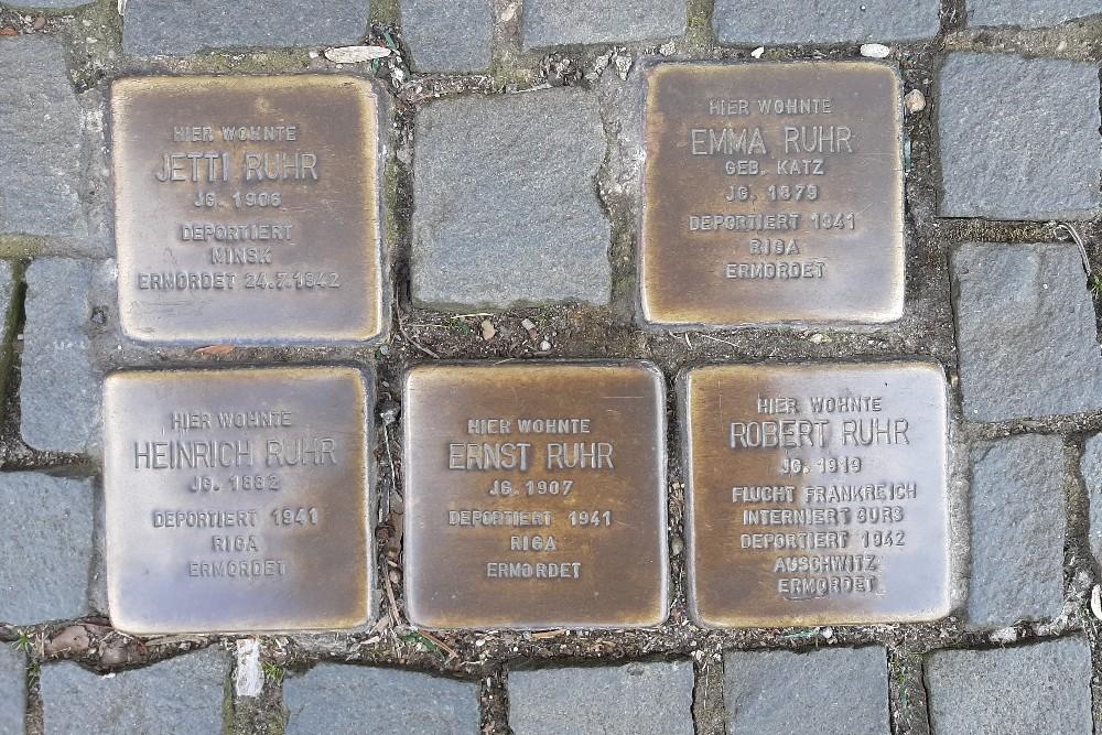 Stumbling Stones Bahnstraße 12