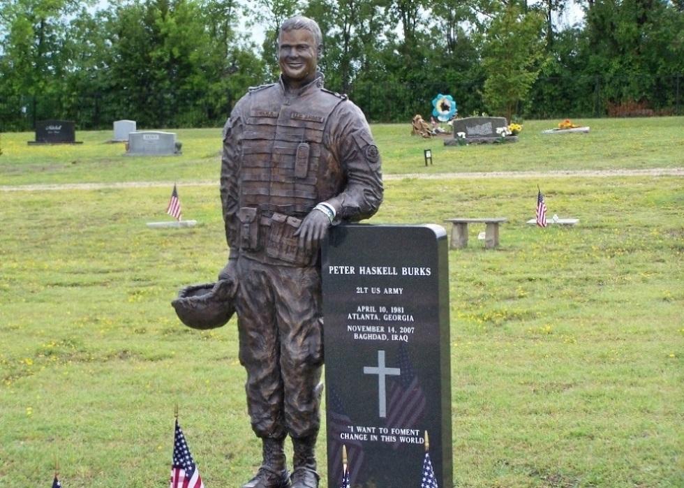 Amerikaans Oorlogsgraf Melissa Cemetery