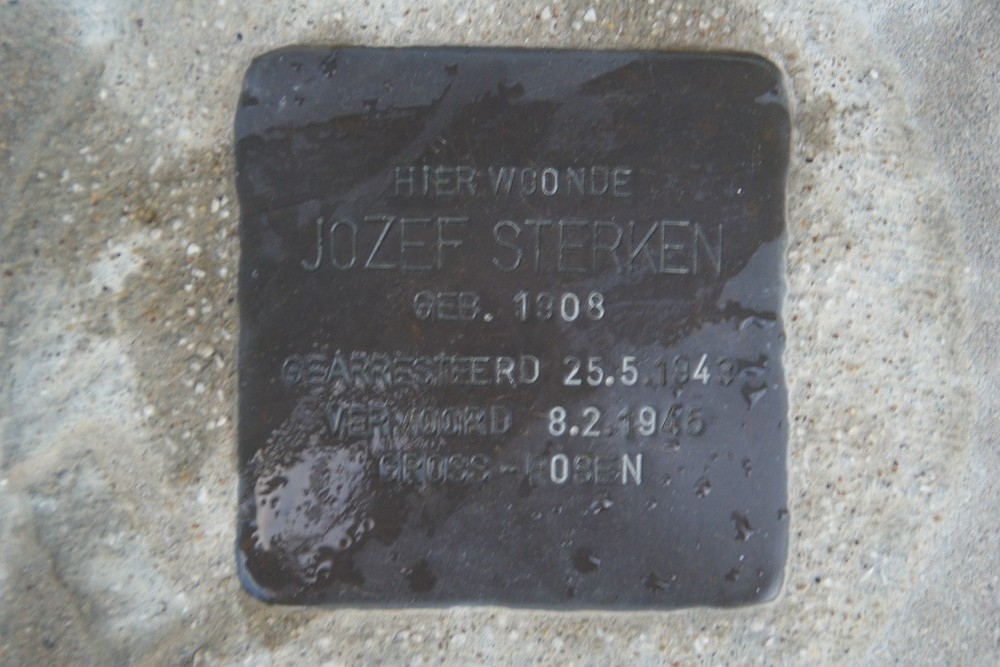 Stumbling Stone Slachthuisstraat 18
