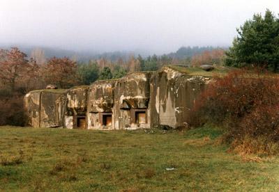 Maginotlinie - Fort Hochwald
