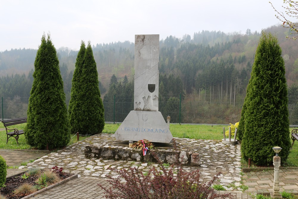 Memorial and Armoured Vehicle Martinja Vas
