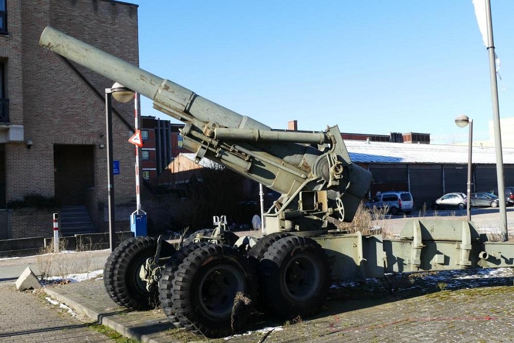 Amerikaanse 155mm houwitser M1A1 Hasselt