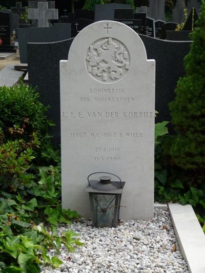 Dutch War Graves Roman Catholic Cemetery Het Heike