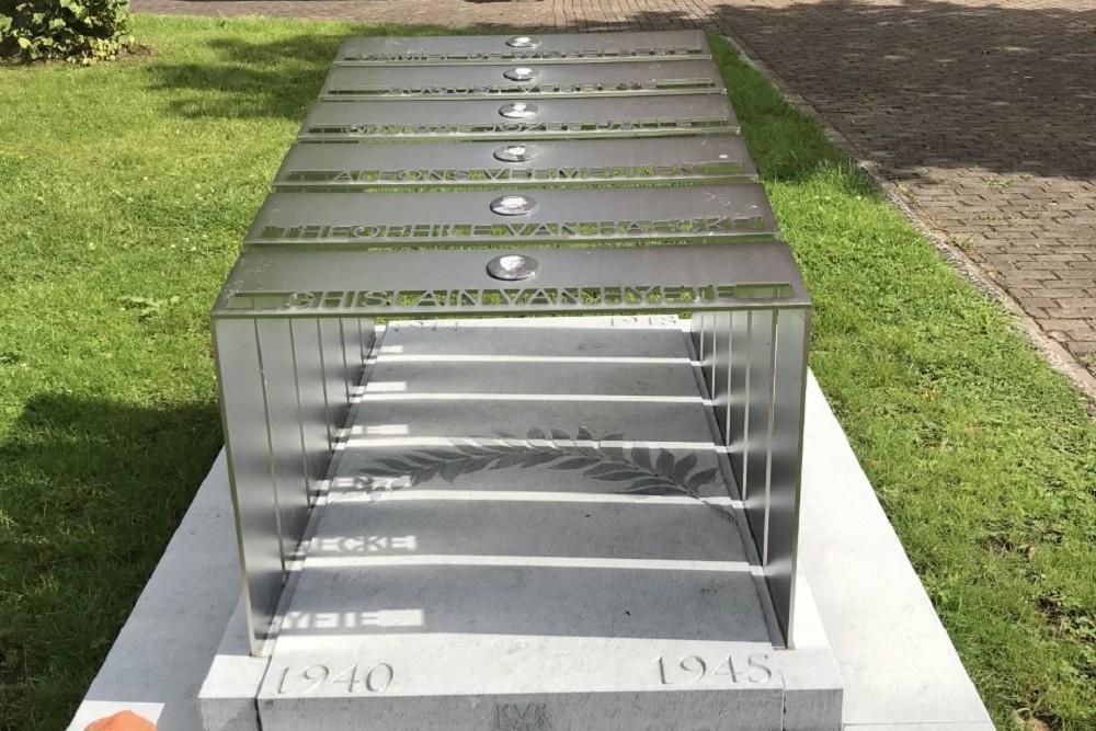 War Monument Oostveld