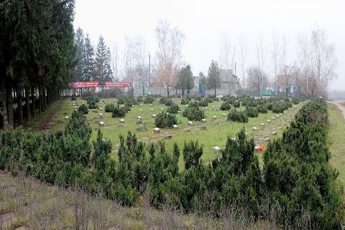Sovjet Oorlogsbegraafplaats Subottsi