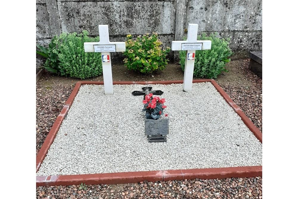 French War Graves La Neuville-lès-Bray