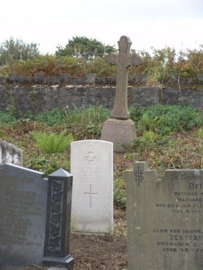 Oorlogsgraven van het Gemenebest Mynydd Bach Congregational Chapelyard