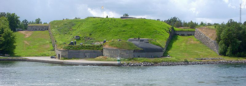 Vaxholm Line - Fort Oskar-Fredriksborg